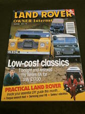 LAND ROVER OWNER INTERNATIONAL - LOW COST CLASSICS - MAY 1998