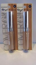 2 Pack Cover Girl Truconceal With Blendable Minerals .24 OZ! #4
