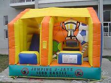 MASSIVE JUMPING CASTLE SALE - 4mx4m Sports JumpnSlide Combo ** Commercial * NEW