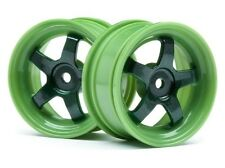HPI Racing 113095 Work Meister S1 Wheels Green 26mm (0mm OS/2pcs) NITRO RS4 3