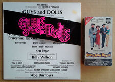 GUYS AND DOLLS - MOTOWN - 1976 LP +  GUYS & DOLLS - SEALED VHS TAPE