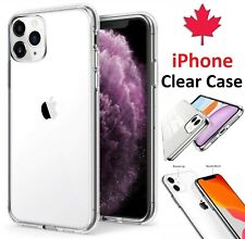 For iPhone 12 11 Pro Max XR XS 8 Plus 7 6 SE 2020 Clear Case Silicone Back Cover