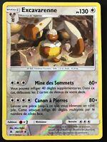 Carte Pokemon EXCAVARENNE 98/131 REVERSE Soleil et Lune 6 SL6 FR NEUF