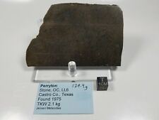 Perryton Stone Ordinary Chondrite Texas 129.4 g slice