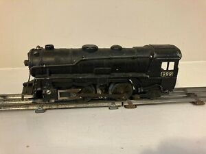 MARX VINTAGE 999 DIECAST LOCOMOTIVE ENGINE TRAIN TESTED RUNS