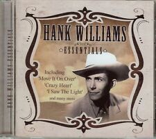 HANK WILLIAMS - ESSENTIALS - CD - NEW