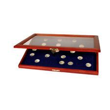 SAFE 5867 Münzen-Vitrine mit runden Vertiefungen