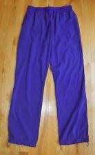 Euc! Spread Good Cheer purple stretch scrub pants (M) 31� inseam