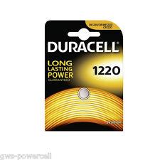 20 x Duracell DL1220 Batterie CR1220 Lithium 3V Knopfbatterie CR 1220 Battery