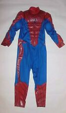 BOYS COSTUME DISNEY SPIDERMAN EASY ACCESS STEP IN VELCRO OPENING SIZE SMALL 5/6
