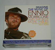 5 CD BOX/IMAGINE THE MUSIC OF ENNIO MORRICONE AND THE BEST MOVIE THEMES/7014/5