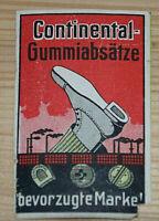 39358 Vignette Anuncio Continental Gummiabsätze Bevorzugte Marca Zapato