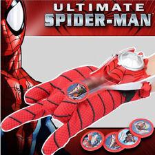 Super Hero Launchers Gloves Spider Man Iron Man Hulk Cosplay Role Play Kids Toys