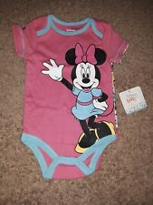 """2-pack Infant Bodysuits """"Minnie Mouse & Mikey Mouse (size - 6/9 Months)"""