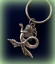 MERMAID KEYCHAIN Jewelry ANTIQUE Art Nouveau Victorian Style Keychain