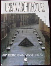 Europeans Masters Urban Architecture 3 Atrium Urbanismo