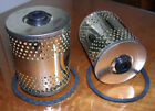 FIAT 1100 1200 1500S 1400B (2) oil filters  NEW RECENTLY MADE