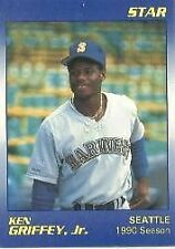 1990 Star Ken Griffey #6 Baseball Card