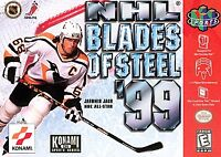 NHL Blades of Steel '99 (Nintendo 64, 1999) Game Only