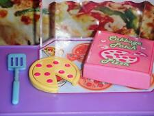 Cabbage Patch Kid Pepporoni Pizza Spatula Lot fits Fisher Price Loving Family
