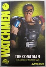 DC Direct 1/6 Watchman The Comedian Deluxe Collector Figure