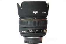 Sigma 30mm f/1.4 HSM EX Lens For Nikon AF APS-C - Motorized