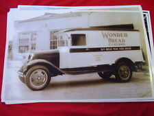 1931  FORD  AA PANEL TRUCK WONDER BREAD TACOMA WA  11 X 17  PHOTO   PICTURE