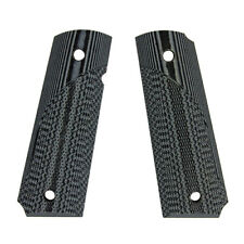NEW! Pachmayr 1911 G10 Pistol Grip Checkered Gray/Black 61001