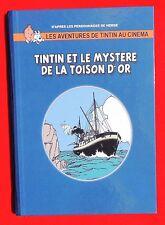 Tintin et le mystère de la Toison d'Or. éditions Hommage 2000. Pastiche couleurs