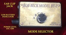 BOB BECK  BT-7 Electro-Therapy BECK BOX 6 mode device One Year Warranty