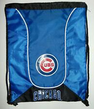 NEW Chicago Cubs Bag Backpack MLB Baseball Licensed Gym Tote School Drawstring
