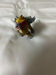 Entei figure authentic rare Pokemon HGSS 2010 Promo