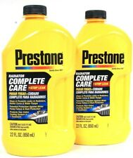 2ct Prestone 22 Oz Radiator Complete Care Plus Stop Leak Protects In 1 Treatment