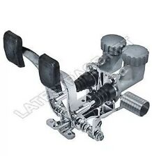 Basic Pedal Assembly with Roller Pedal 7/8 Brake 3/4 Clutch by Latest Rage
