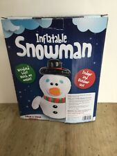 Inflatable Snowman Christmas Decoration Boxed
