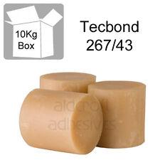 TECBOND 267/43 Hot Melt 43mm, 10kg Glue Sticks for Polyolefin