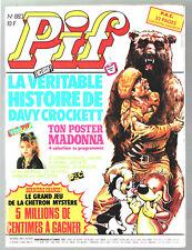 -°- PIF GADGET n°883 -°- 02/1986 -°- DAVY CROCKETT