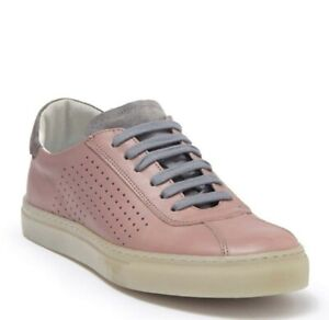 Kenneth Cole New York Men's Orson Low Top Mauve Grey Leather Sneaker 11 M US New
