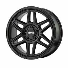 "KMC 18x8 KM716 Nomad Wheel Satin Black 5x110 PCD +38mm Offset 6.00""BS"