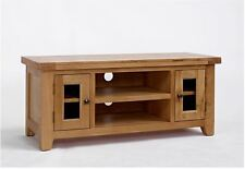 Devon Oak Large TV Unit