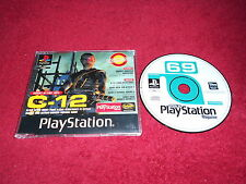 PLAYSTATION MAGAZINE DISC 69 VOL 1 EXCLUSIVE DEMO C-12  PS1 PS2 PAL