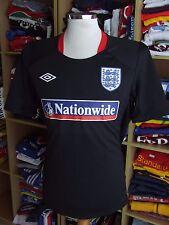 Trikot England (L) Training Schwarz Black Shirt Jersey Umbro Maglia Camiseta