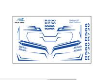 H0/1:87 Decals DIS0640 Scania CR FH Dekor in blau