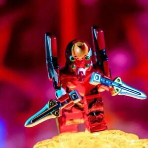 ⎡MINIFIGS FACTORY⎦ Custom EVANGELION 02 Lego Minifigure