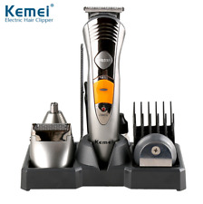KEMEI 110v 7in1 Clipper Beard Mustache Shaving Machine Trimmer Barber Travel Set