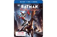 New Sealed Batman and Harley Quinn Steelbook Blu-ray + DVD + Digital