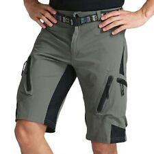 Mens Cycling Mountain Bike MTB Shorts Padded Pants Underwear Bicycle Sportwear