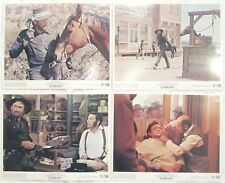 JOHNNY CASH 8x10 PHOTO LOT collection 4 ORIGINAL WESTERN SCENES The Man in Black