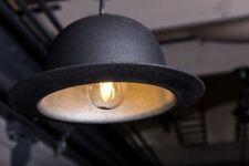More details for bowler hat light retro style pendant light bar restaurant lighting