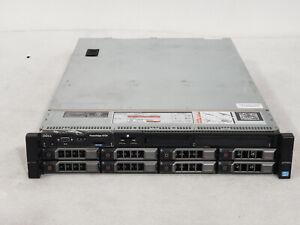"Dell Poweredge R720 3.5"" 2x E5-2670 2.6ghz 16-Cores 128gb H710 8x Trays 2x750w"
